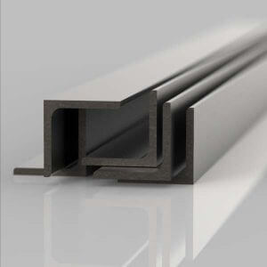 several lengths of mild steel angle iron