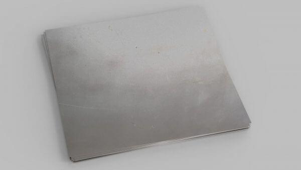 several sheets of zintec steel sheets