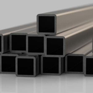 an array of steel square hollow section, an item often used by Force 5 Engineering
