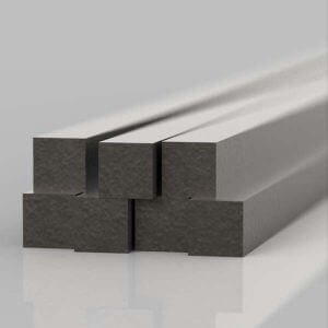 steel solid square bars, to be used as infill on new railings