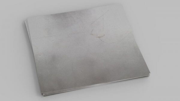 single sheet of zintec treated mild steel