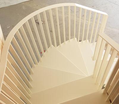 Bespoke Folded Spiral Staircase – Residential
