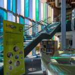 Steel Staircase and Cladding – Idea Store, Tower Hamlets