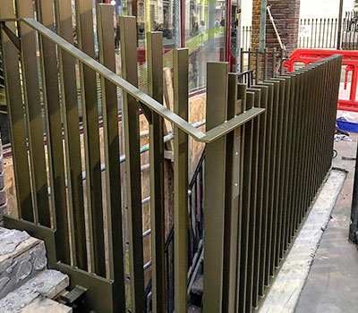 Bespoke railings and balustrades
