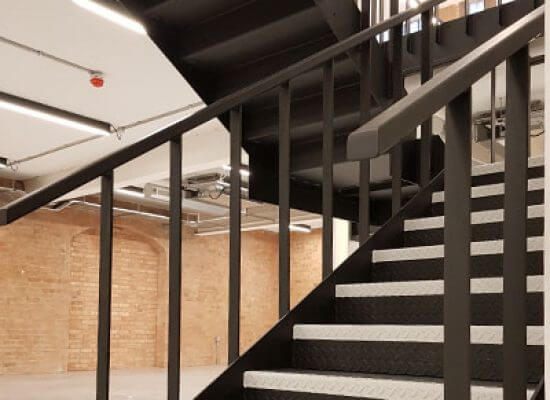 Contemporary industrial staircases