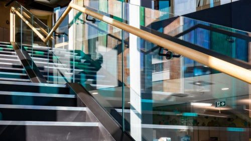Steel Staircase - Idea Store, Tower Hamlets
