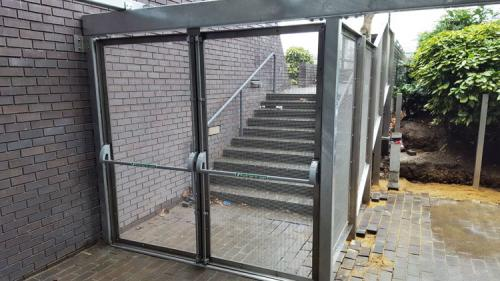 stainless-galvanised-escape